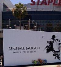 Michael Jackson's Public Memorial Service Cropped