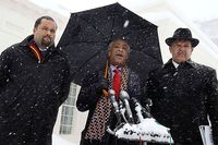 Sharpton-Jealous-Morial at White House