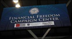 Wells Fargo Financial Freedom Sign
