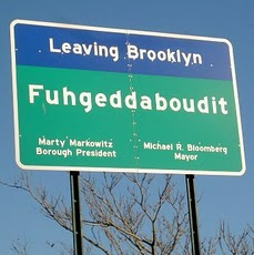 Brooklyn Bridge Sign