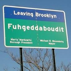 Brooklyn Bridge Sign