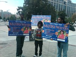 Maxine Waters Street Team