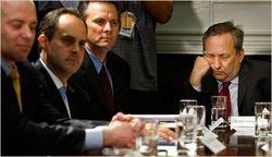 Larry Summers Sleeping