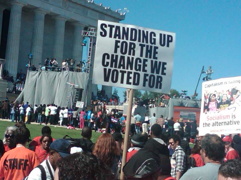 Standing up for Change