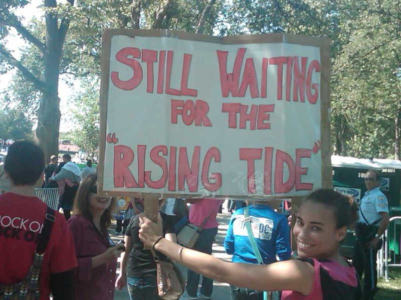 Still Waiting for the Rising Tide