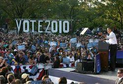 Obama at Podium - 10.10.10