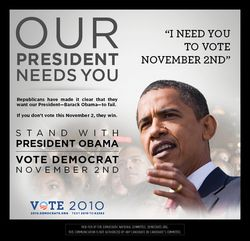 Our President Needs You