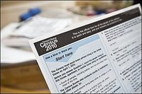 Census Form - April 12