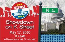 Showdown on K Street