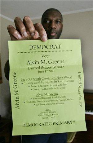 Alvin Greene - Flyer
