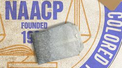 NAACP Logo with Tea Bag