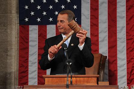 House Speaker John Boehner - 1.5.11