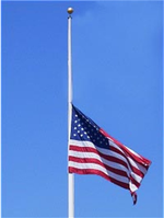 Flag at Half Staff - January 12