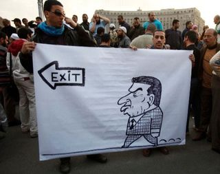 Mubarak - Caricature