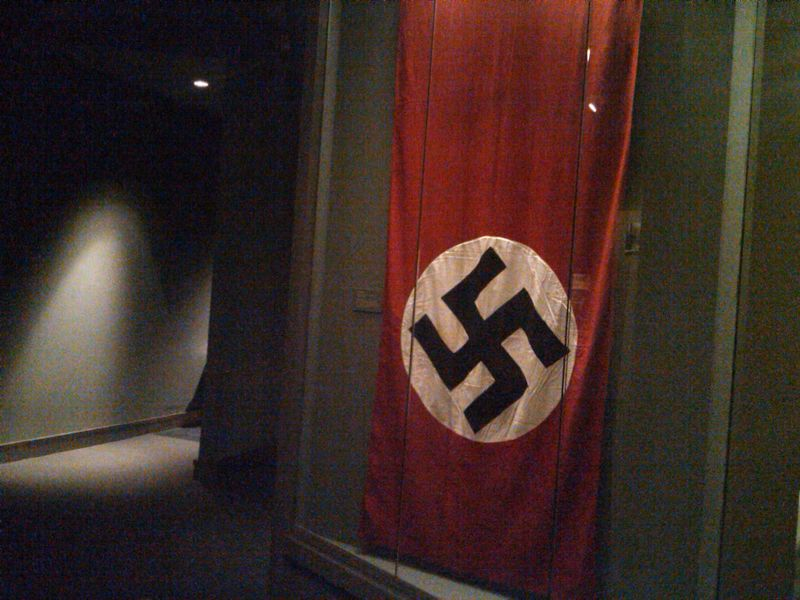 Nazi Flag - Museum of Jewish Heritage - 2.24.11