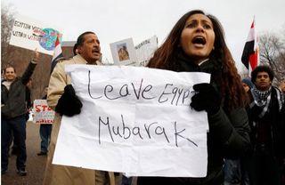 Mubarak - Leave Egypt