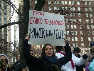 From Cairo to Madison - 2.26.11