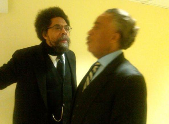 Al Sharpton - Cornel West - 4.10.11