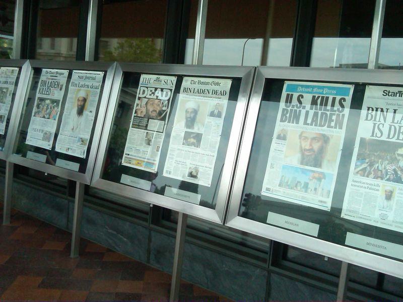 Newseum Headlines - 5.2.11