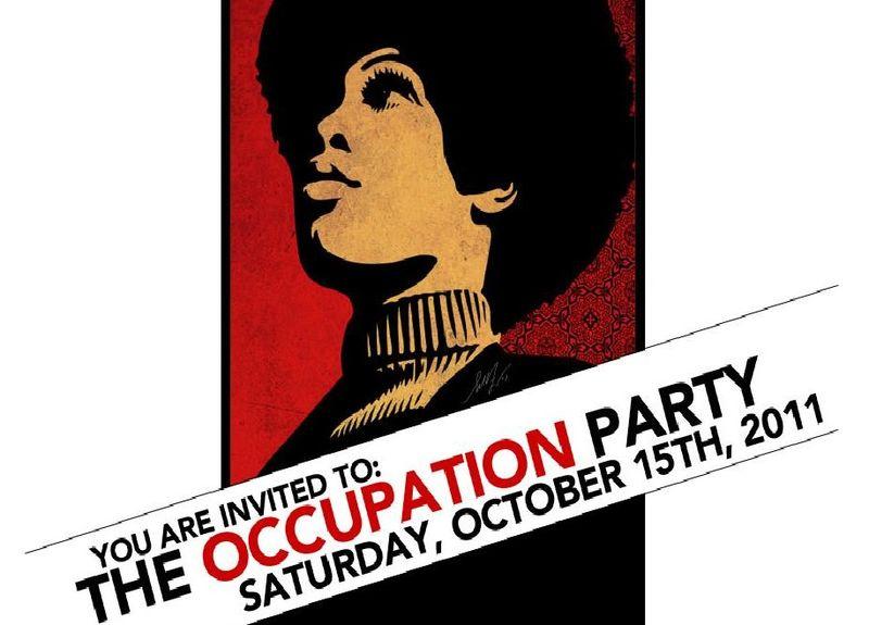 OWS Invite shepard fairey - 10.15.11