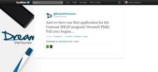DreamIt Ventures Tweet - 5.19.11