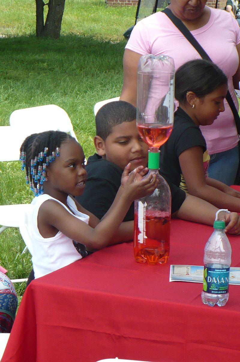 Children at World Science Festival - 6.4.11