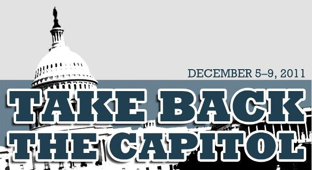 Take Back the Capitol Banner
