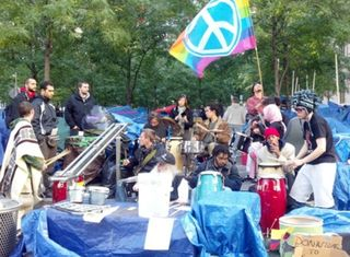 OWS - Drum Circle - Resized