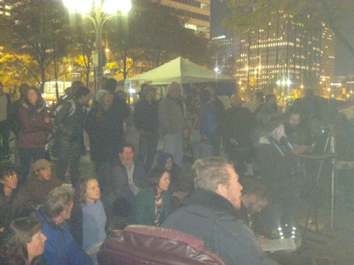 Occupy Philly General Assembly - 11.2.11