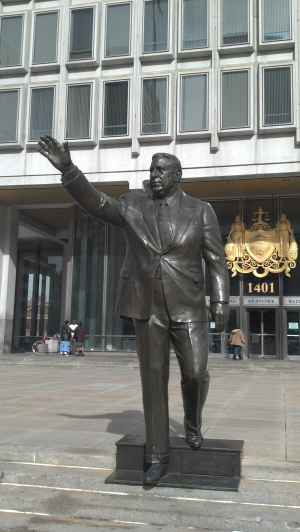 Occupy Philly - Frank Rizzo - 11.3.11