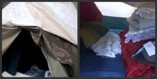 Occupy Philly - Tent Collage - 11.12.11