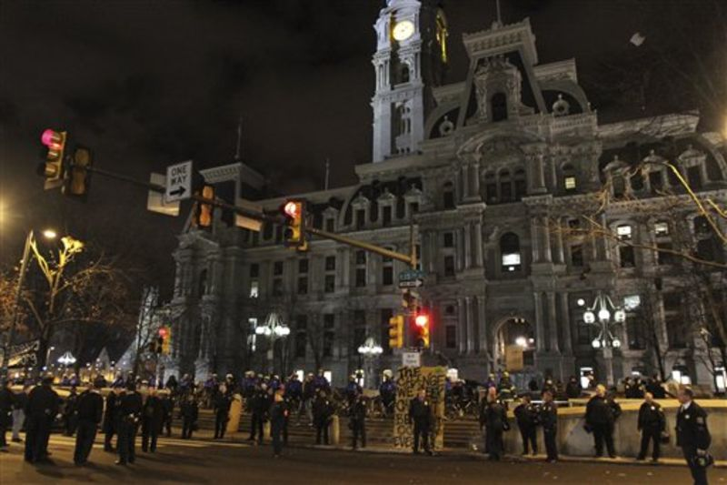 Occupy Philly - City Hall - 11.30.11