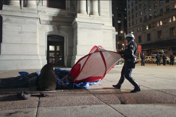Occupy Philly - Tent - 11.30.11