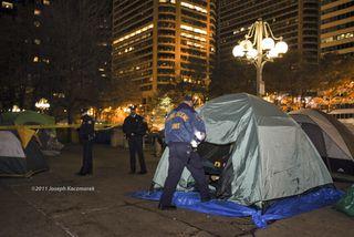 Occupy Philly - Police Investigate Rape - 11.12.11