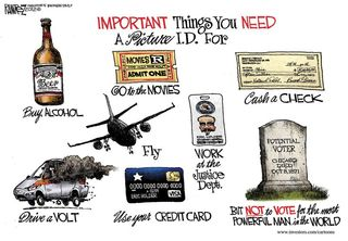 Things For Which You Need a Photo ID