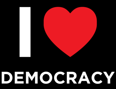 I Heart Democracy Logo