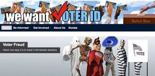 Minnesota - We Want Voter ID - Banner