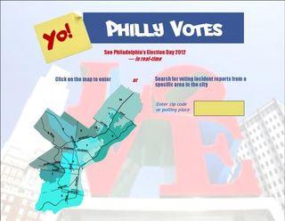 Yo Philly Votes Mock Landing