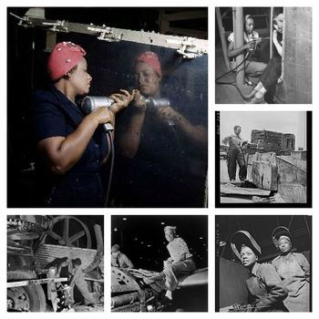 Rosie the Riveter Collage 2.0