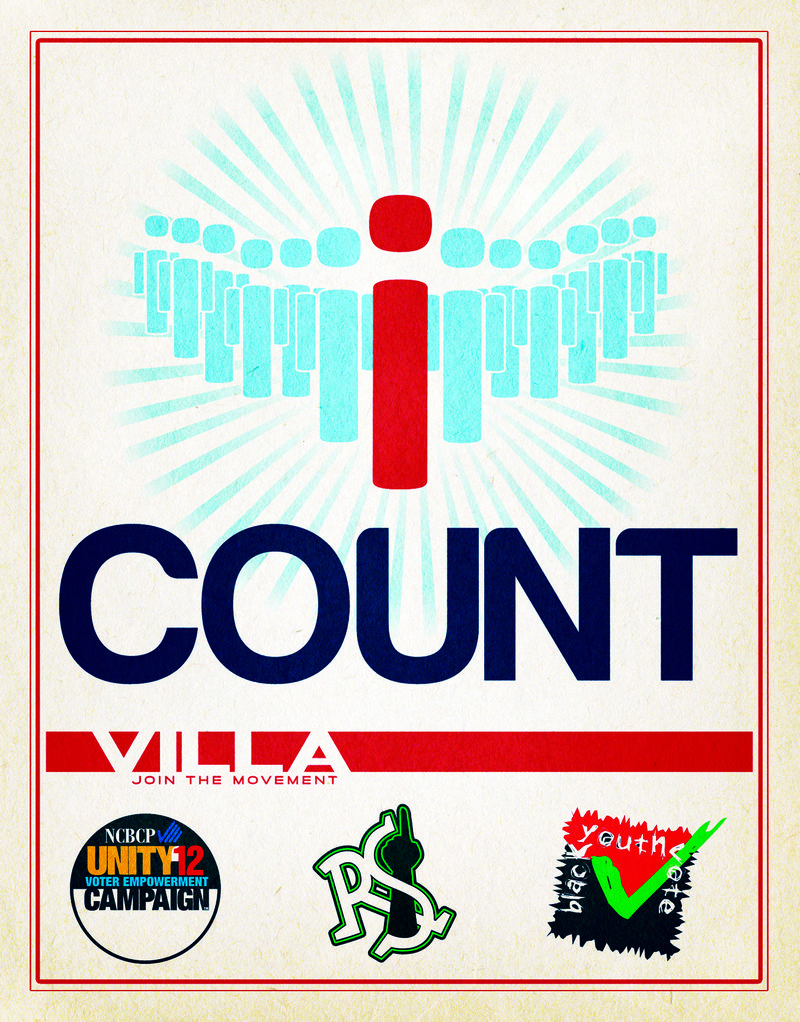 Villa Election Day Flier - Front