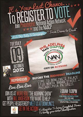 Philadelphia National Action Network - 10.9.12