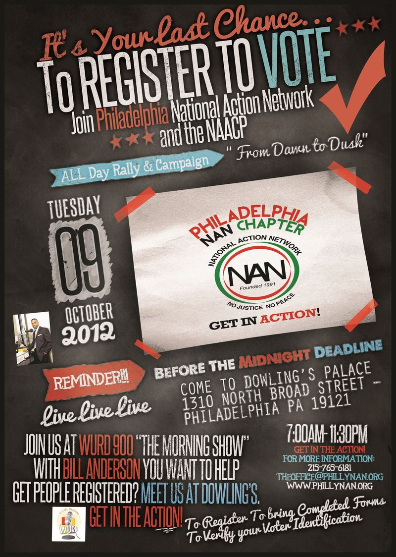 Philadelphia National Action Network - 10.9.12