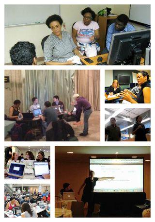 Hackathon Collage