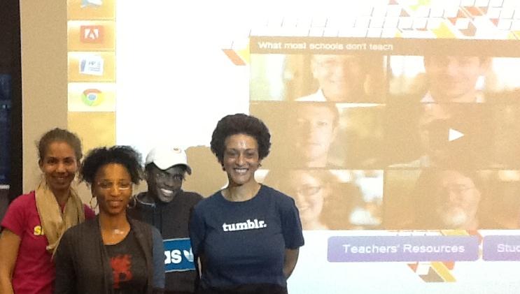 STEMeverywhere Group Shot - AT&T Hackathon 1.1