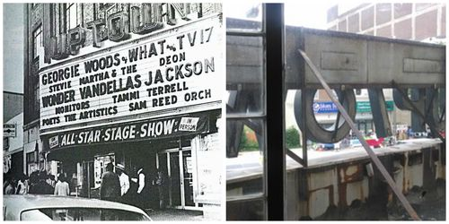 Uptown Theater - Collage