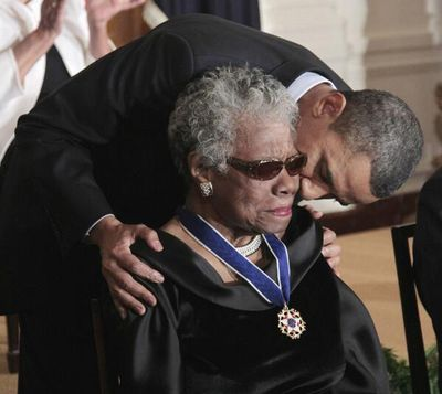 Maya Angelou - Barack Obama