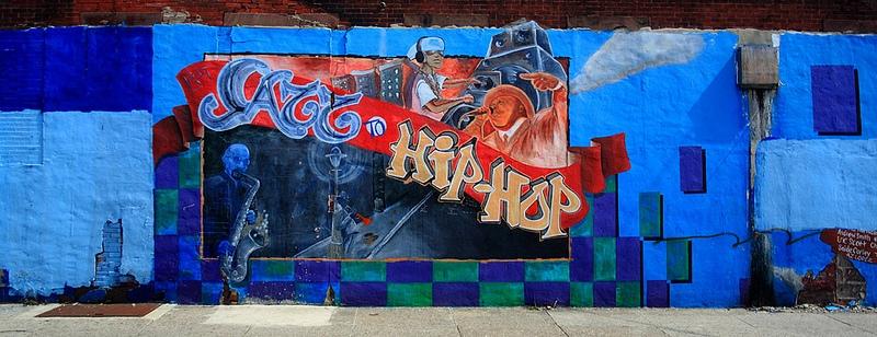Jazz to Hip Hop Mural