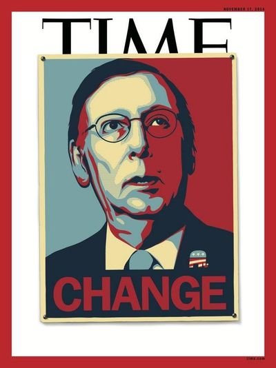 Time Magazine Cover - Change