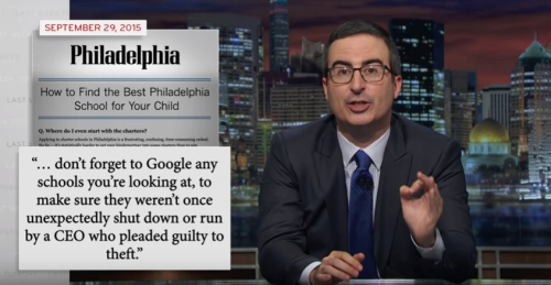 John Oliver - Philly Magazine