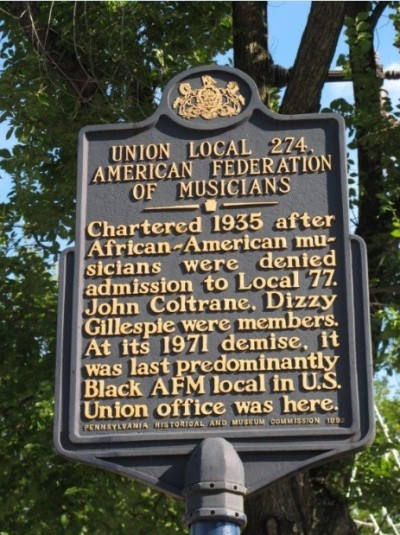Union Local 274 Historical Marker